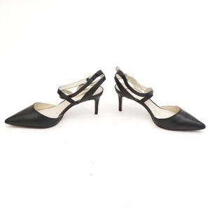 Louise et Cie Black Leather Heels - Size 9M